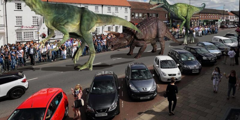 Dinosaurs on your doorstep
